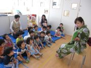 2.3歳児クラス「こぐまちゃんのみずあそび」