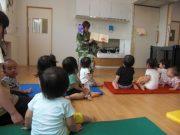 0.1歳児クラス「おしくらまんじゅう」