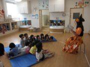 4・5歳児クラス 朗読「うさぎとかめ」