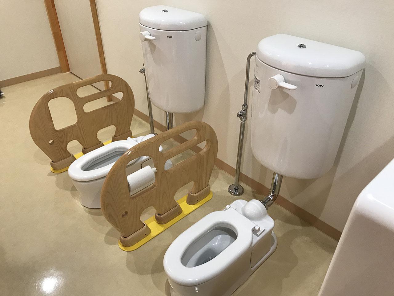 乳児トイレ