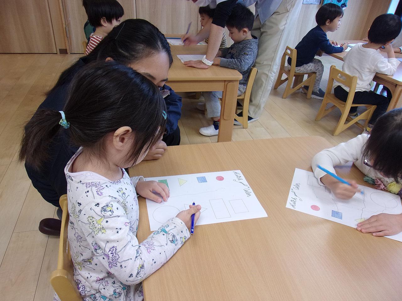 3才児英語プログラム