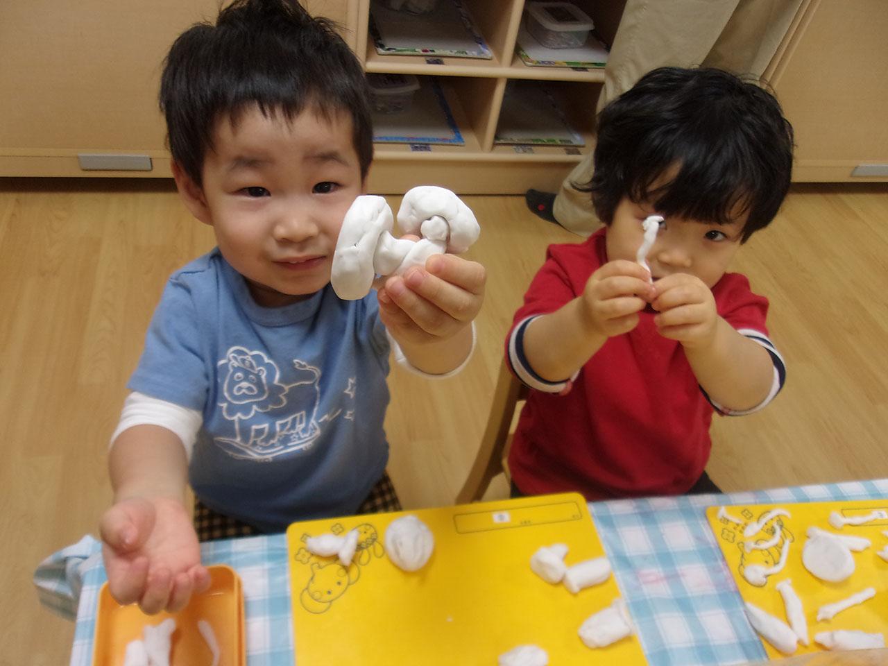 2才児造形プログラム
