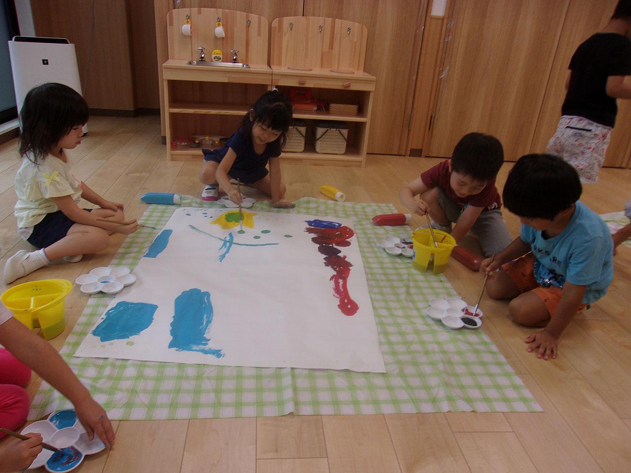 4.5才児造形プログラム