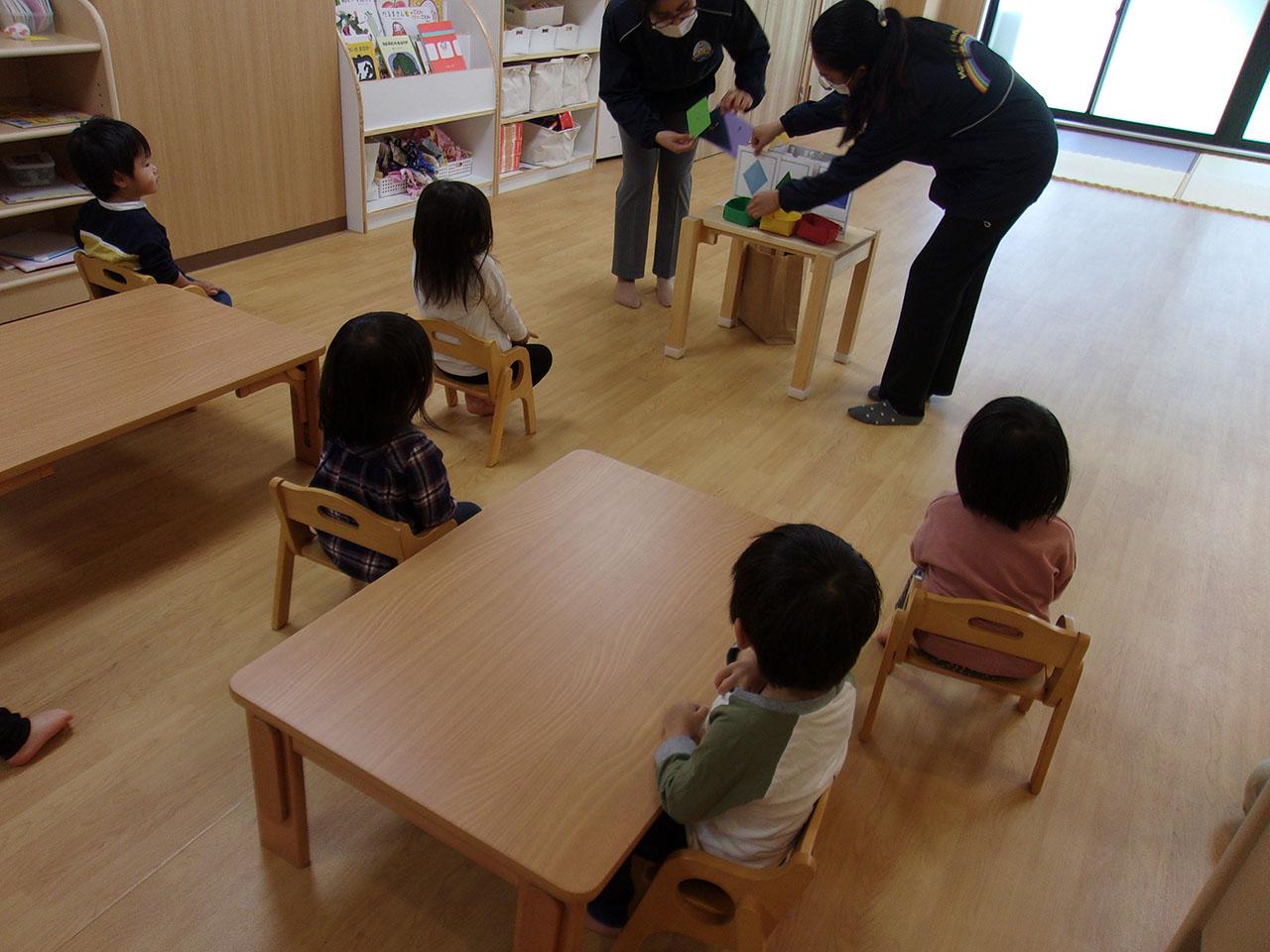 1才児英語プログラム
