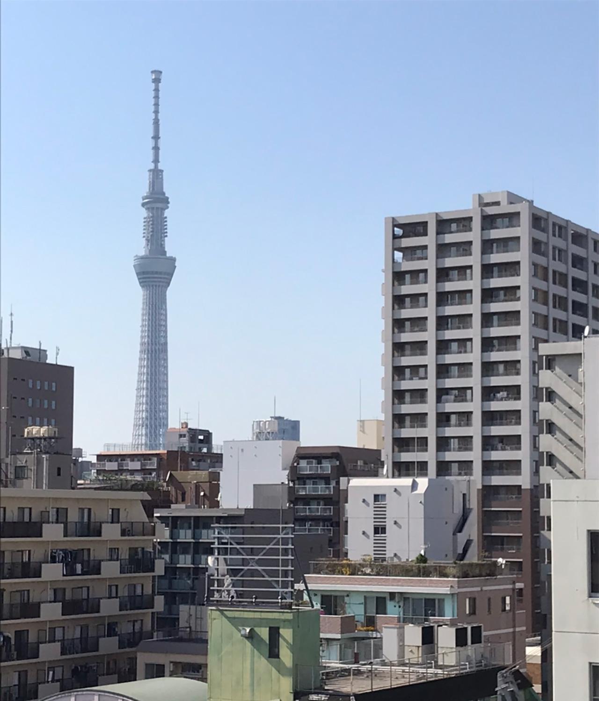 東京支社-昼の景色